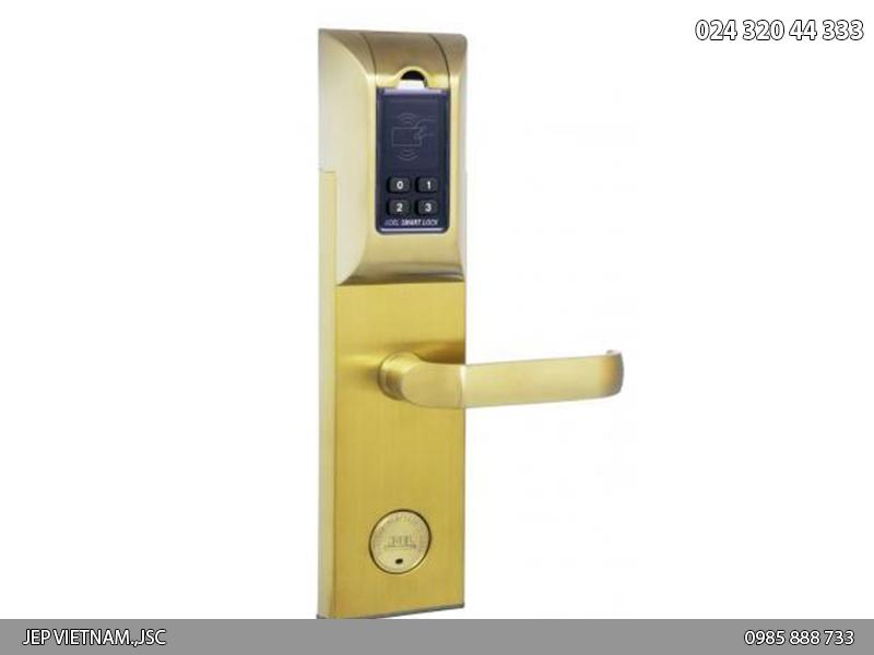 Khóa vân tay Adel 4920 - màu vàng