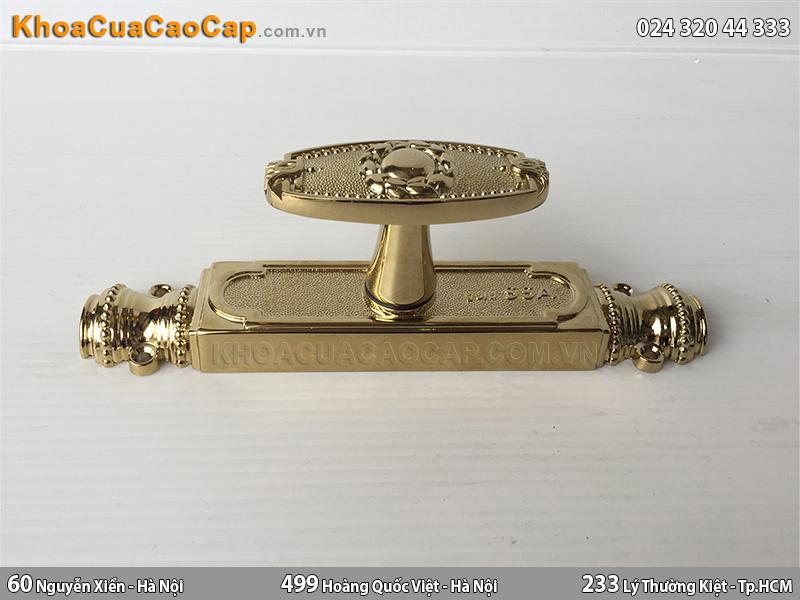 clemon đồng cửa đi màu vàng bóng CR01-D-PVD - ảnh 1