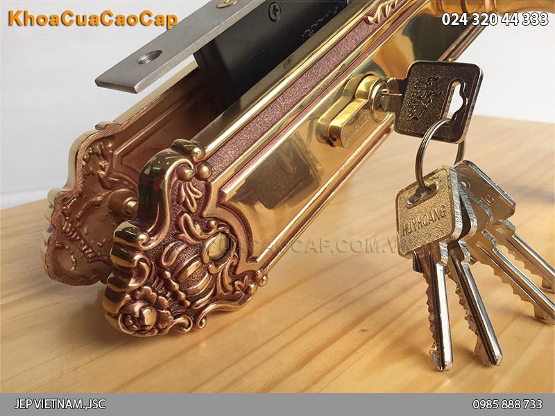 Khóa cửa chính Huy Hoàng HC 8529 - ảnh 2