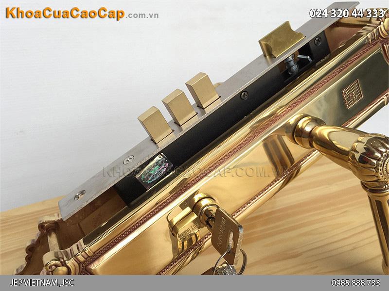 Khóa cửa đại sảnh bằng đồng HC8526 đại - 3