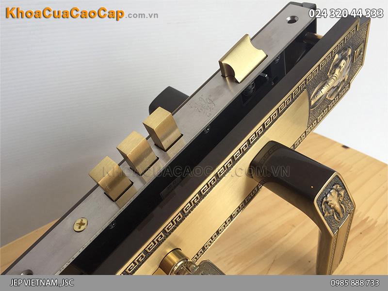 Khóa cửa đại sảnh Huy Hoàng HCR8528D - 4