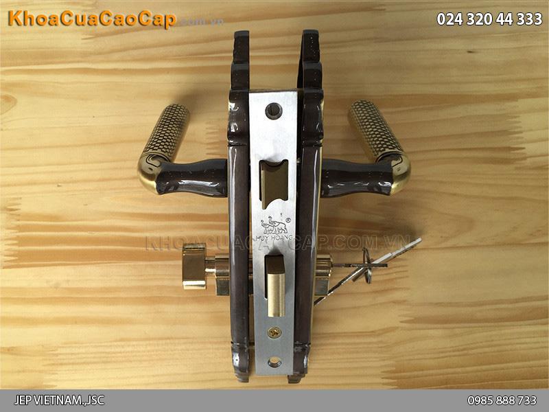 Khóa cửa gỗ thông phòng Huy Hoàng HC583 - 3