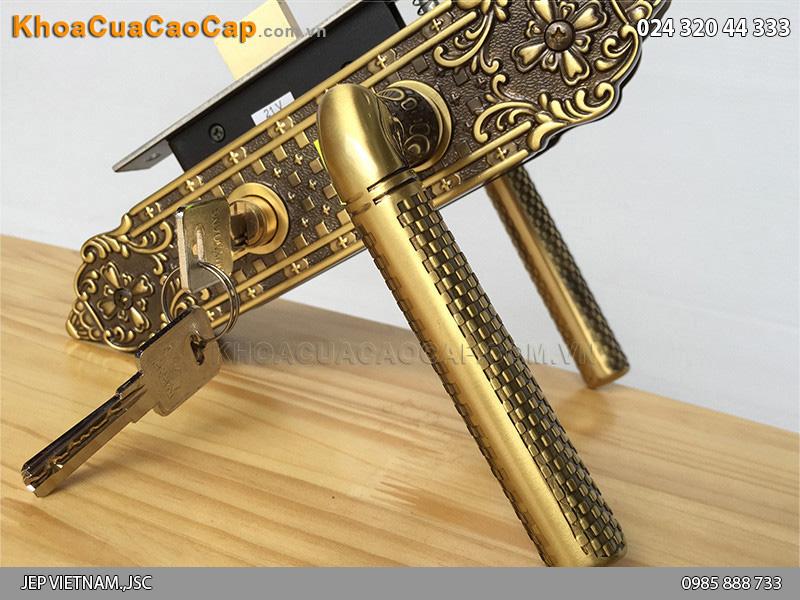 Khóa cửa gỗ thông phòng Huy Hoàng HC583 - 6