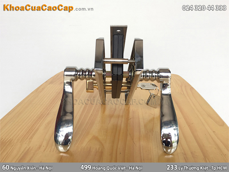 Khóa cửa tay gạt Huy Hoàng EX 5819 - 4