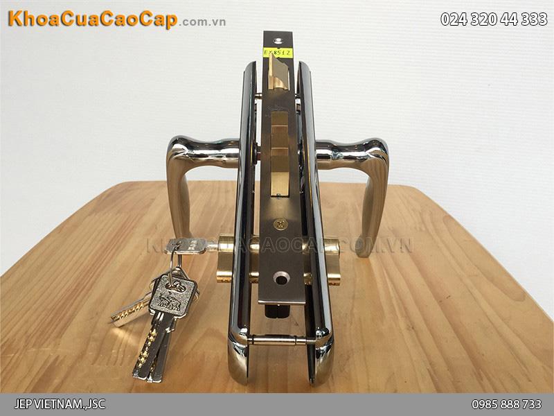 Khóa cửa tay gạt Huy Hoàng EX 8512 - ảnh 5