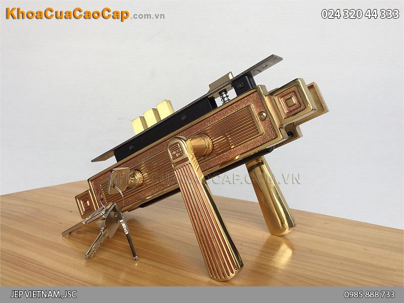 Khóa cửa tay gạt Huy Hoàng HC8522 - 1