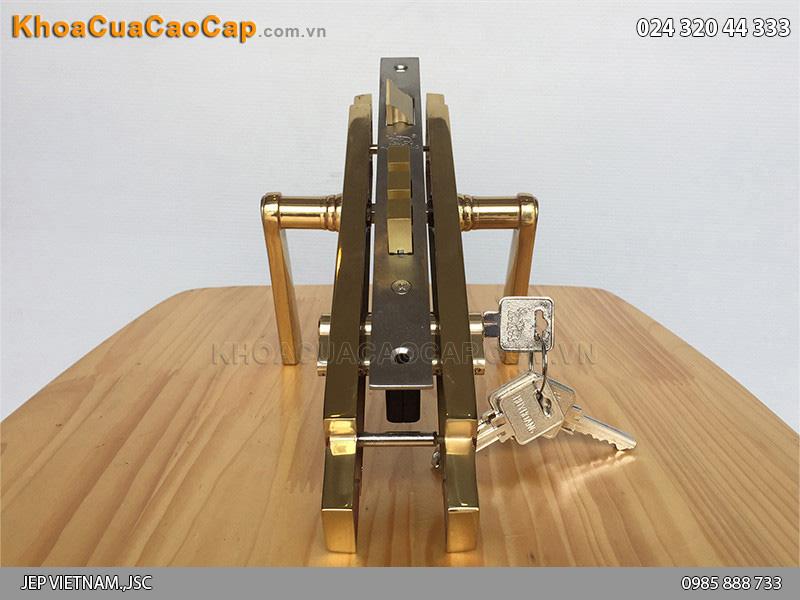Khóa cửa tay gạt Huy Hoàng HC8522 - 2