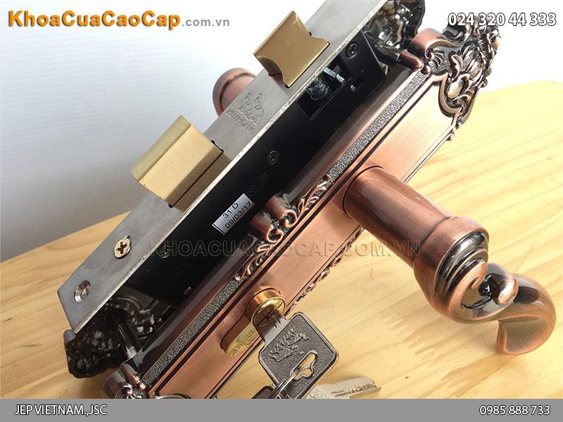 Khóa cửa tay nắm Huy Hoàng EX 5831 - 2