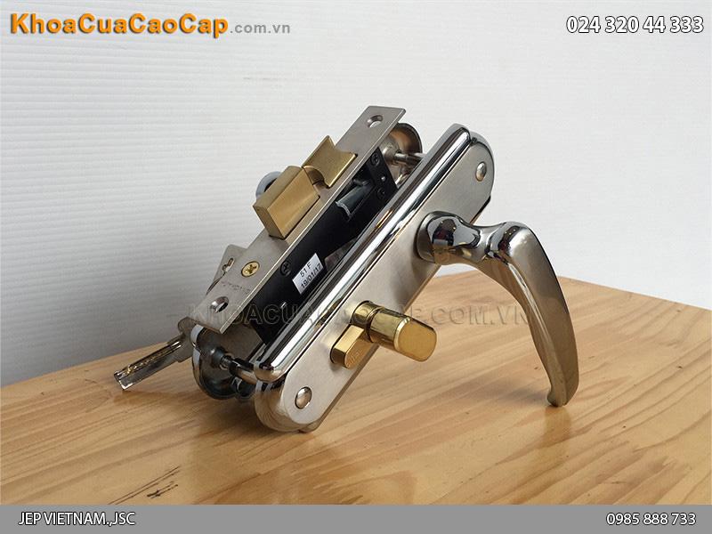Khóa cửa vệ sinh Huy Hoàng EX 5012 - 1