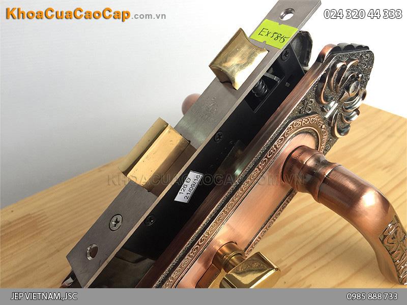 Khóa tay gạt cửa gỗ EX 5815 - 2