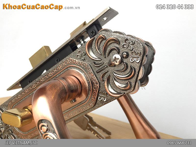 Khóa tay gạt cửa gỗ EX 5815 - 3