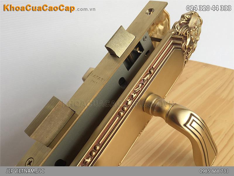 Khóa cửa gỗ Italia SFA8522 - ảnh 3