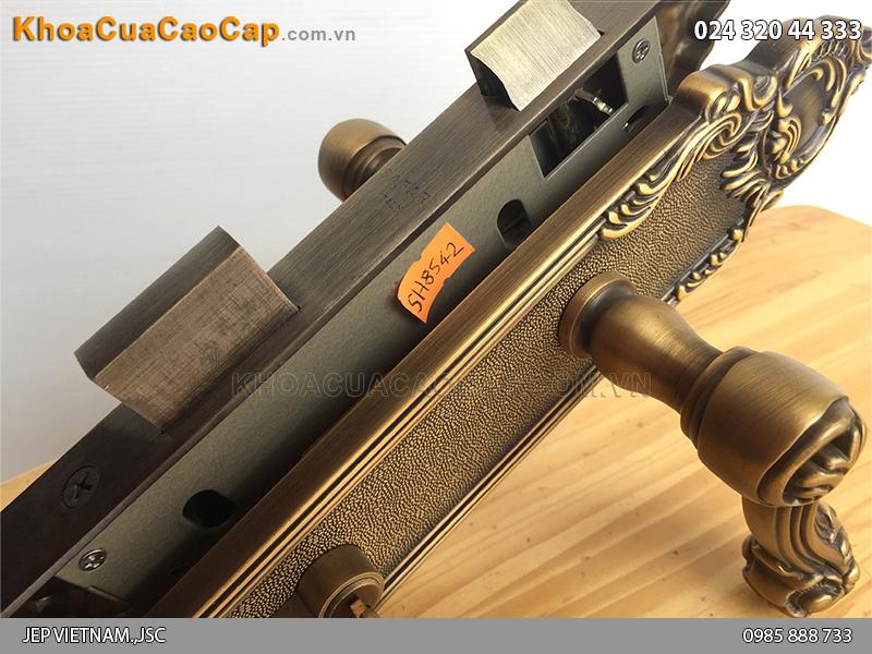 Khóa cửa tay gạt bằng đồng SFA8542-SF ảnh 6