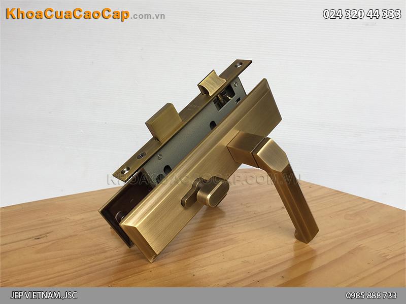 Khóa tay gạt cửa gỗ SFA5849-SF ảnh 4