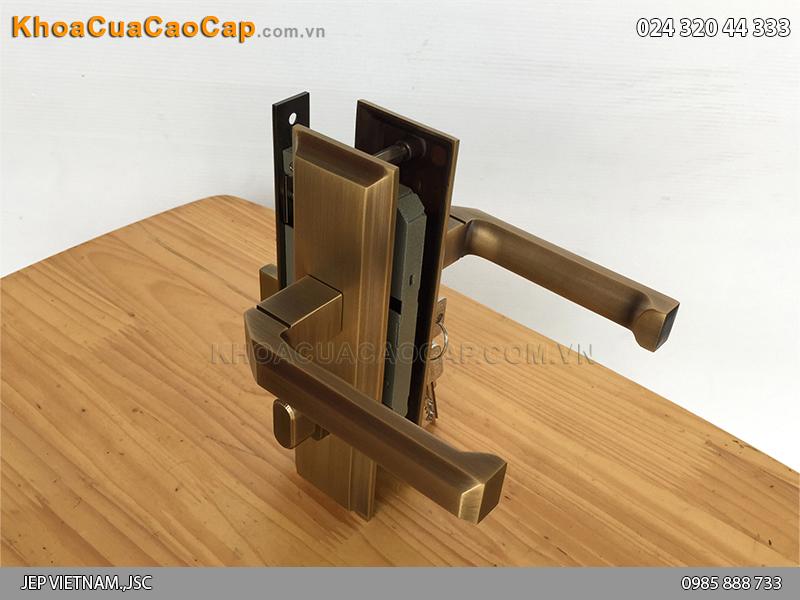 Khóa tay gạt cửa gỗ SFA5849-SF ảnh 5