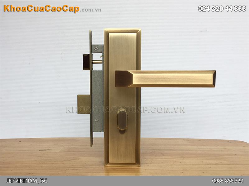 Khóa tay gạt cửa gỗ SFA5849-SF ảnh 6
