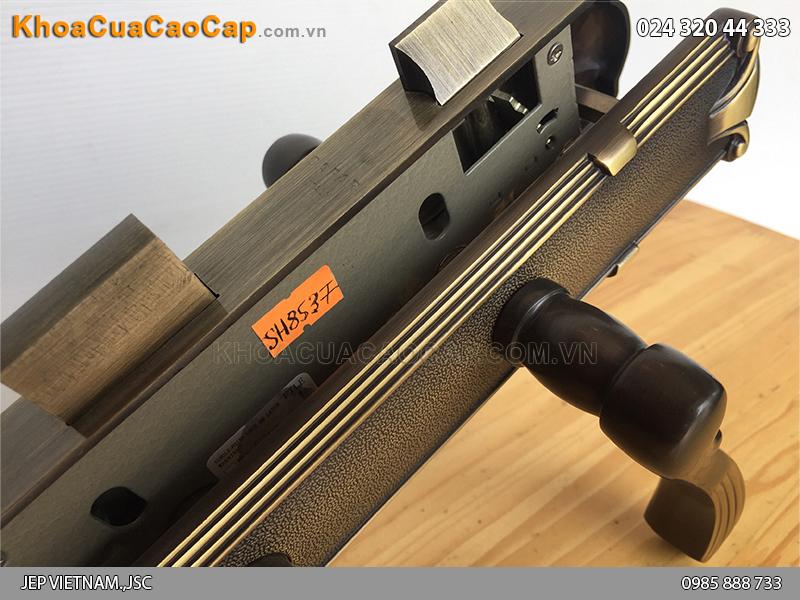 Khóa tay gạt cửa gỗ SFA8537-SF ảnh 5