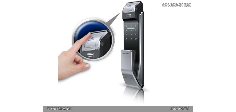 Đặc điểm khóa cửa vân tay Samsung SHS-P718 - ảnh 2
