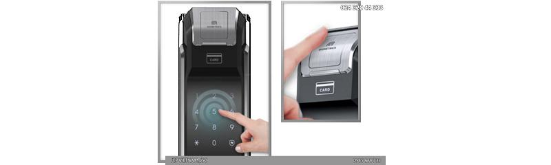 Đặc điểm khóa cửa vân tay Samsung SHS-P718 - ảnh 3