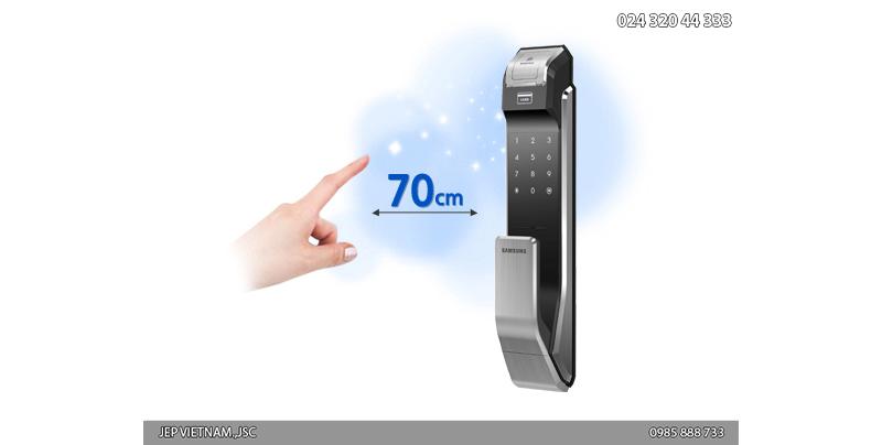 Đặc điểm khóa cửa vân tay Samsung SHS-P718 - ảnh 4