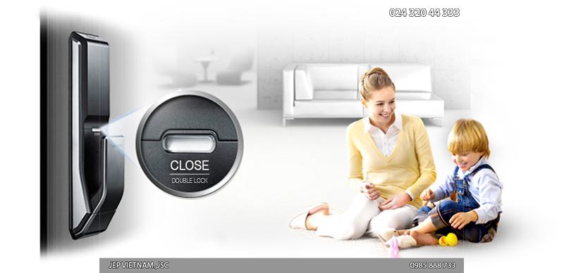 Đặc điểm khóa cửa vân tay Samsung SHS-P718 - ảnh 9