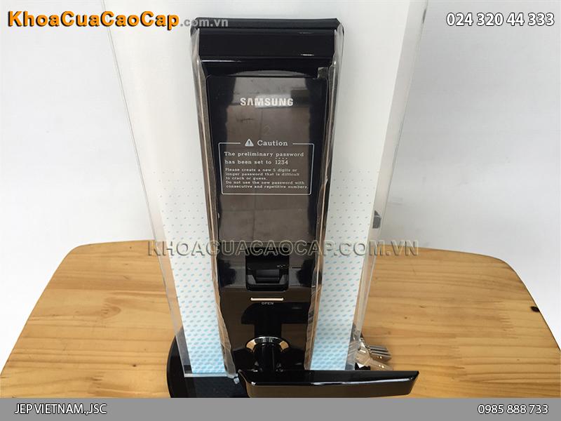 Khóa cửa vân tay Samsung SHS-H705 màu đen - ảnh 6