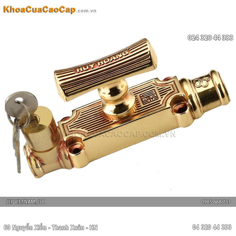 Cremone đồng vàng HC106