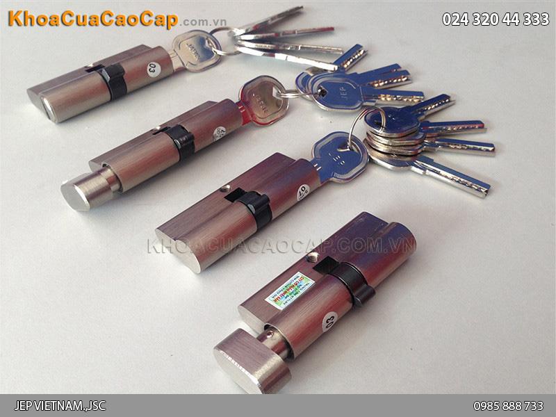Các loại củ chìa - lõi khóa