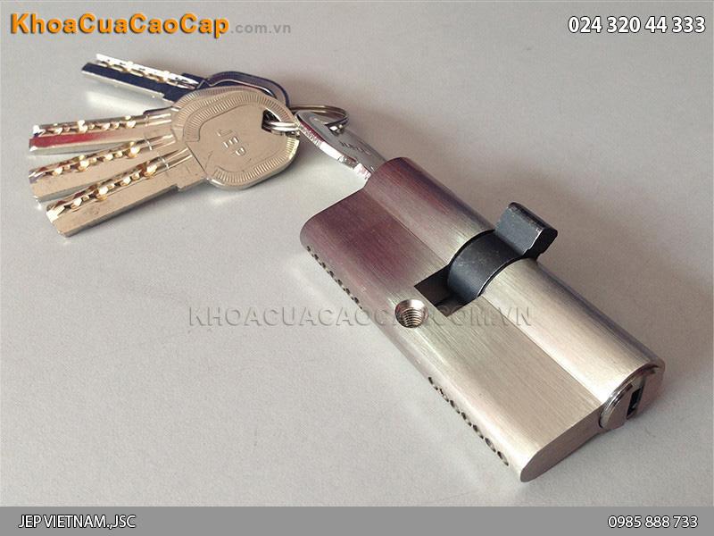 Củ chìa - lõi khóa hai đầu chìa