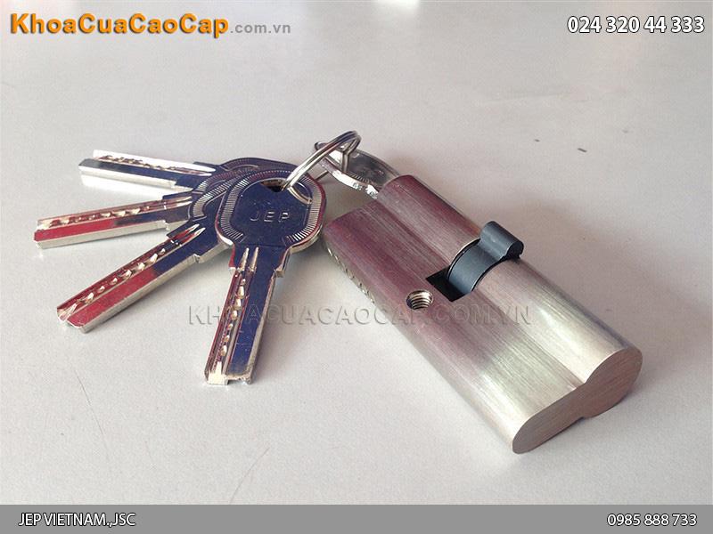 Củ chìa - lõi khóa một đầu chìa một đầu bịt cho cửa ban công