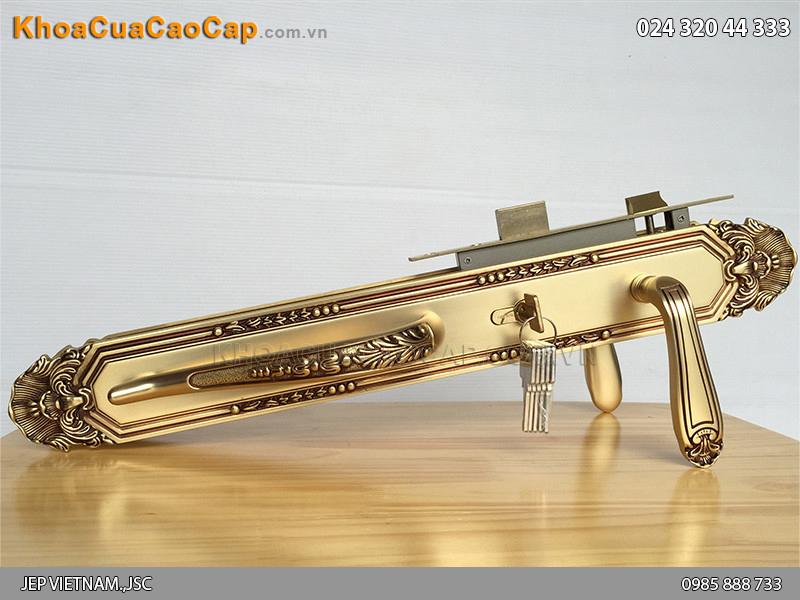 Khóa cửa đại sảnh đồng vàng SFA8514-XXL-RG