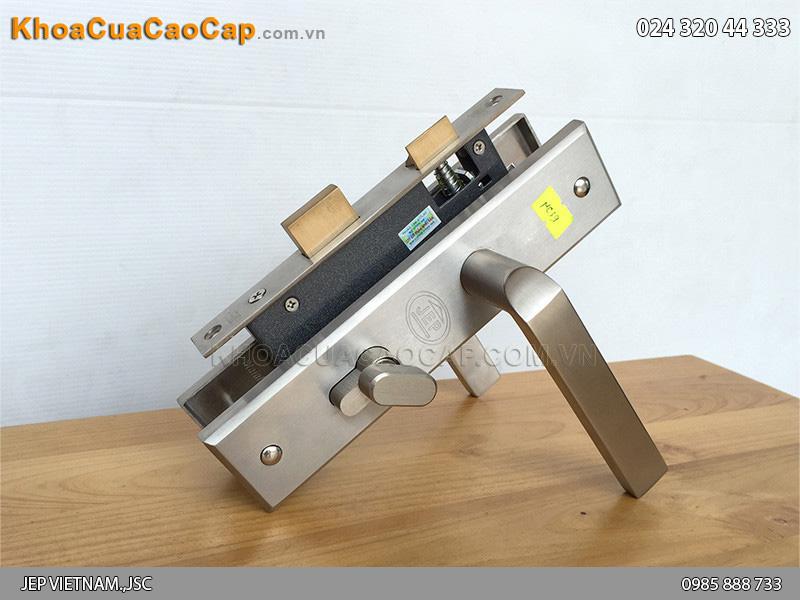Khóa tay gạt cửa sắt chống cháy JEP MC39