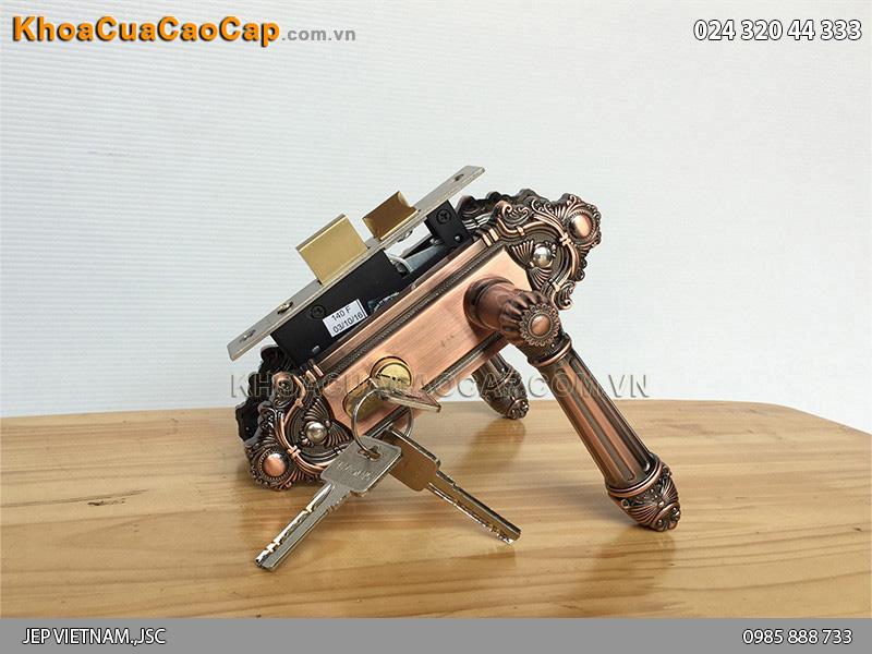 Khóa tay gạt vệ sinh Huy Hoàng EX 5030
