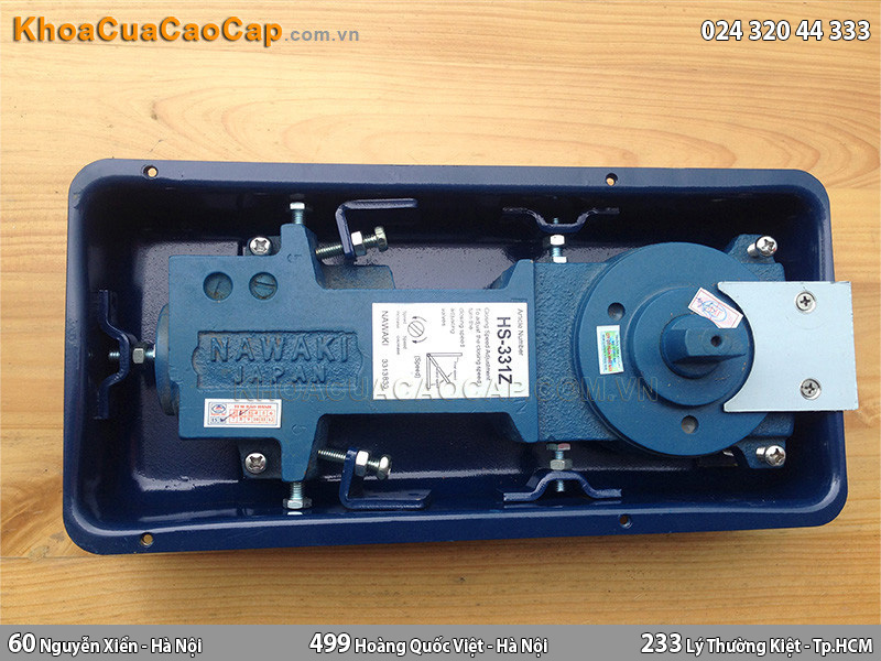 Bản lề cửa kính thủy lực HS331Z - 2