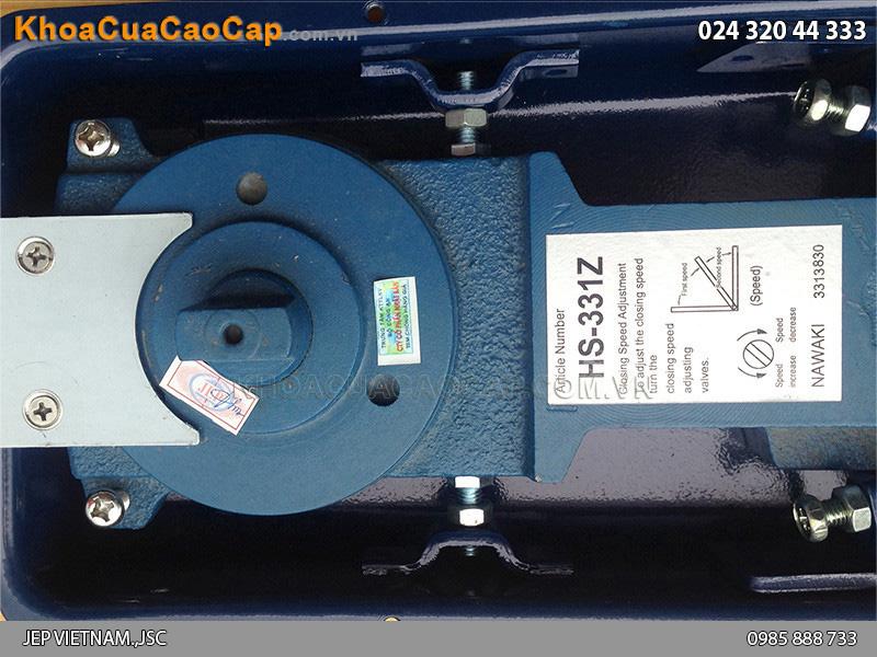 Bản lề cửa kính thủy lực HS331Z - 4