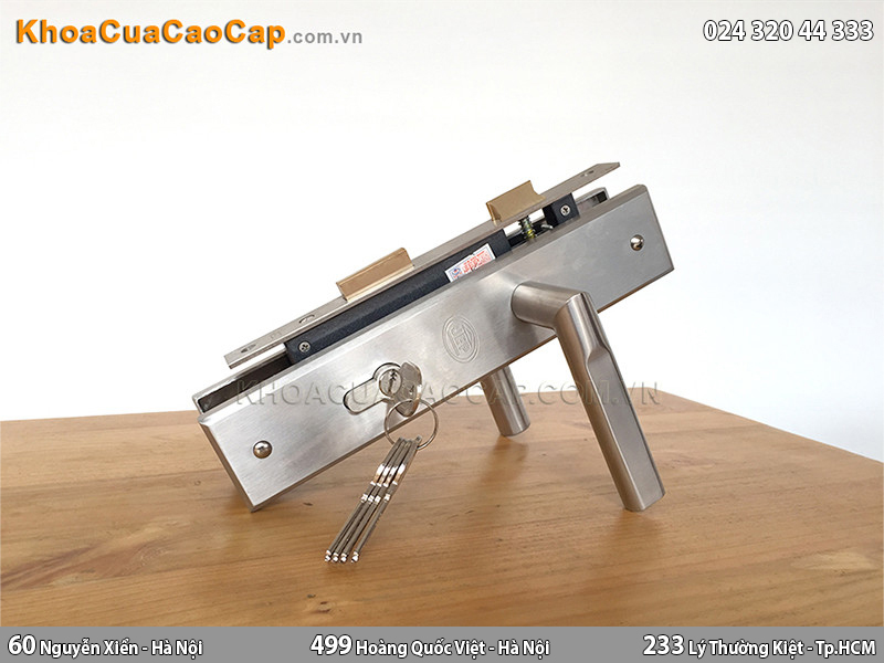 Khóa cửa chính tay gạt JEP MC10 - 1