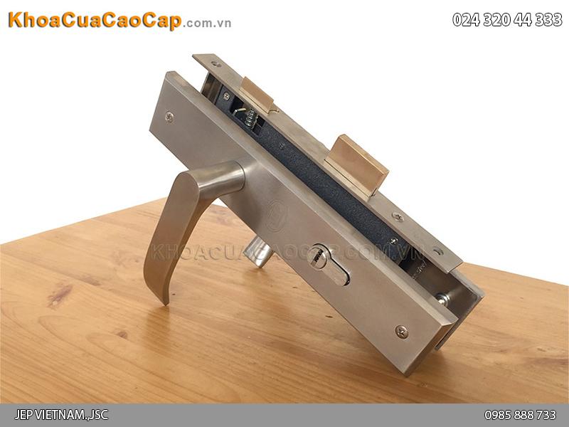 Khóa cửa gỗ tay gạt MC15 - 3