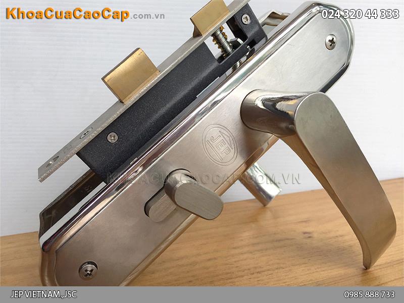 Khóa cửa gỗ tay gạt MC22 - 3
