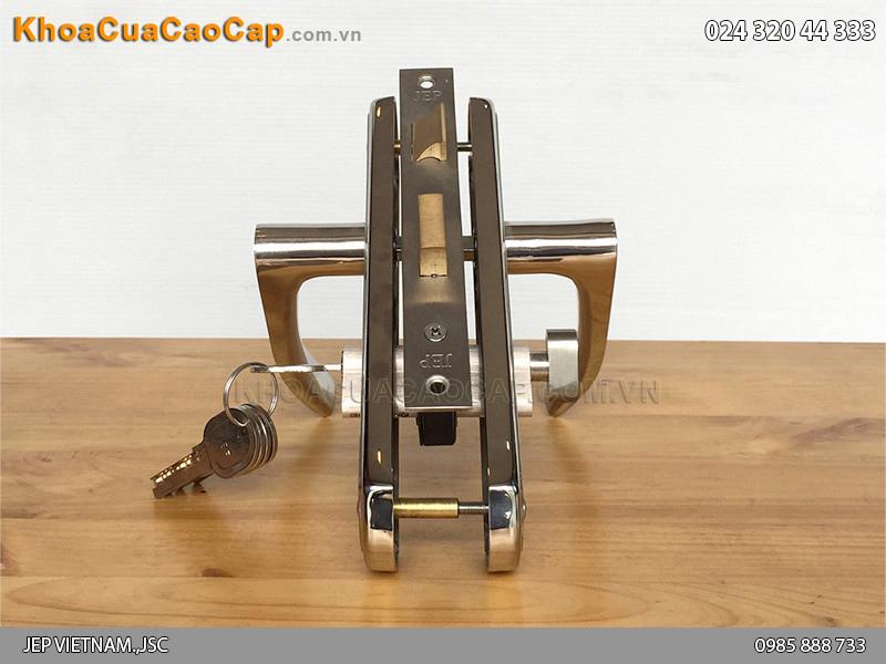 Khóa cửa gỗ tay gạt MC22 - 5