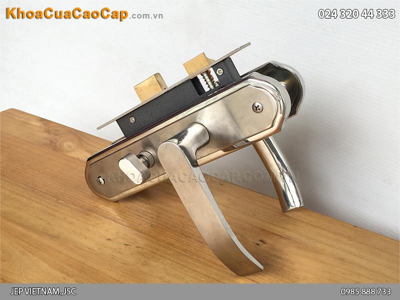 Khóa cửa gỗ tay gạt MC22 - 6