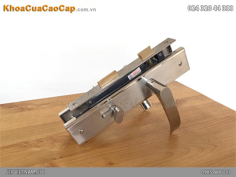 Khóa cửa gỗ tay gạt MC41 - 1