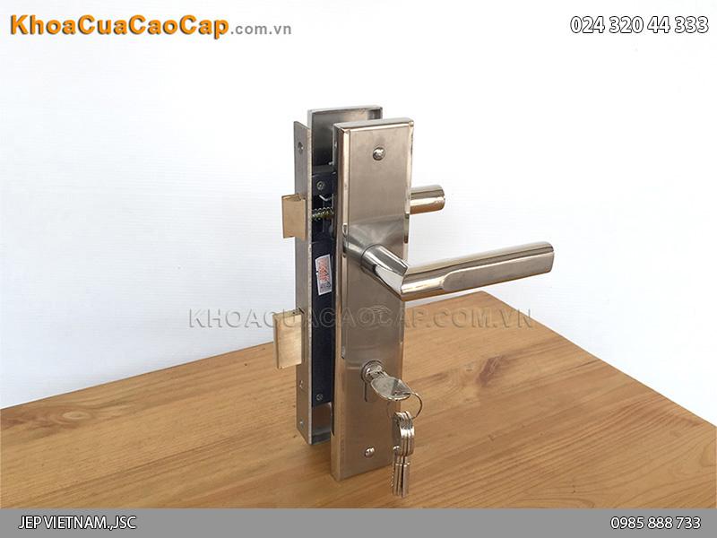 Khóa cửa gỗ tay gạt MC42 - 5