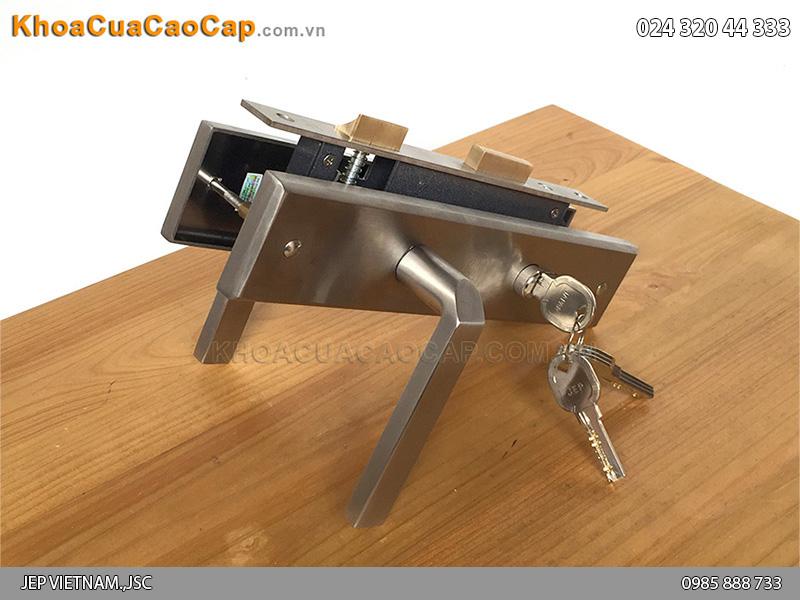 Khóa tay gạt cửa sắt MC12 - 1