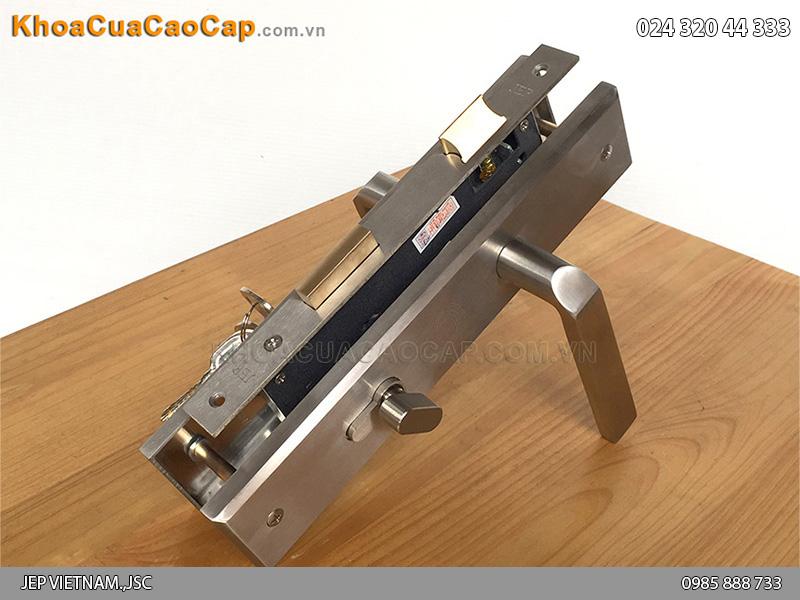 Khóa tay gạt cửa sắt MC12 - 3