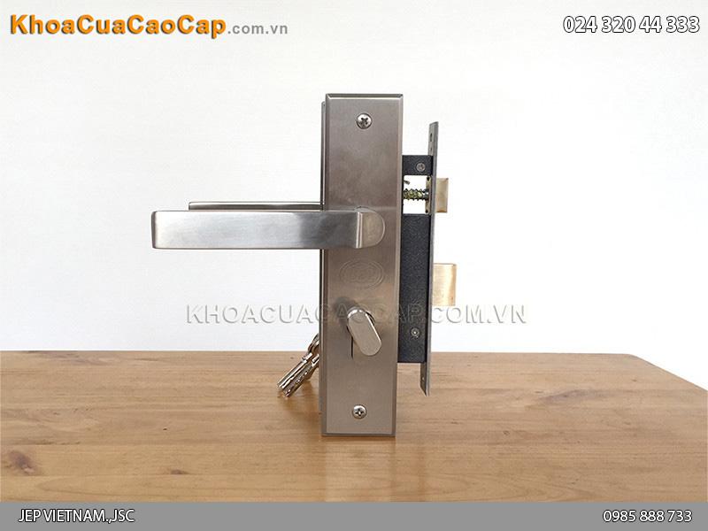 Khóa cửa sắt chống cháy MC39 - 6